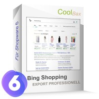 Bing Shopping Export Professionell SW6