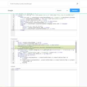 Google Taxonomie