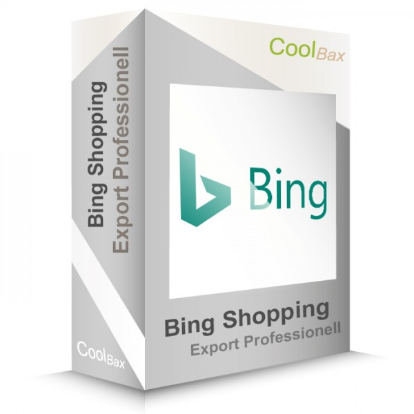 Bing Shopping Export Professionell