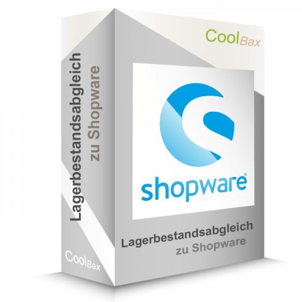 Lagerbestandsabgleich zu Shopware