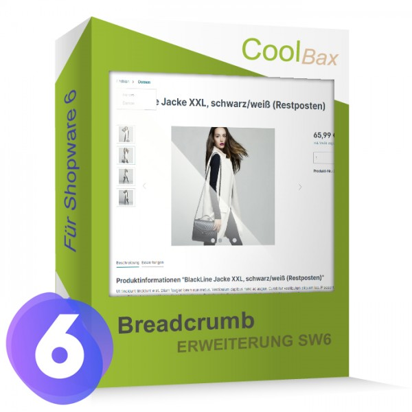 Breadcrumb Erweiterung SW6