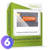 Produktbilder in den Kategorien als Slider SW6