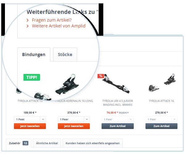 Product Stream Erweiterung Variante 2
