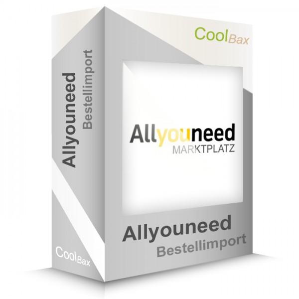 Allyouneed Bestellimport (Erweiterung)