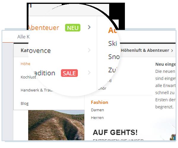 Amazon Navigation