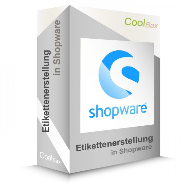 Etikettenerstellung in Shopware